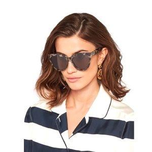 Le Specs Liar Liar Cat-Eye Tortoise Sunglasses